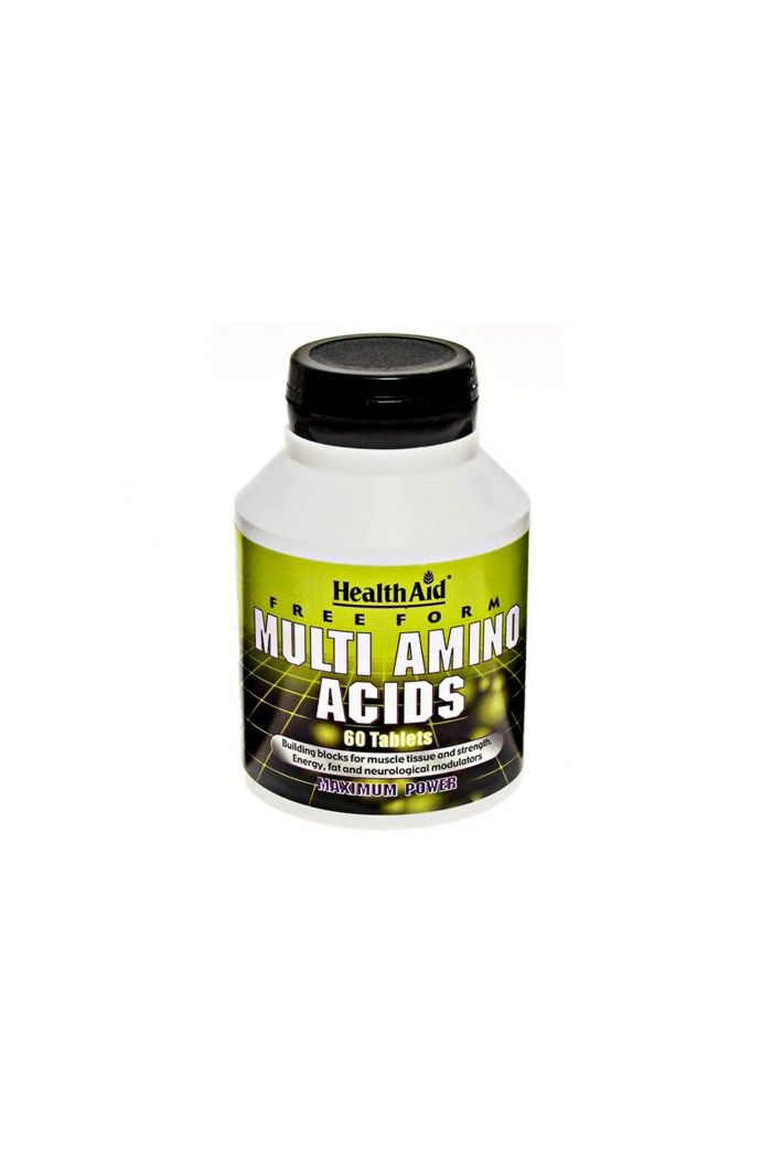 HEALTH AID Multi Amino Acids Αμινοξέα, 60 tabs