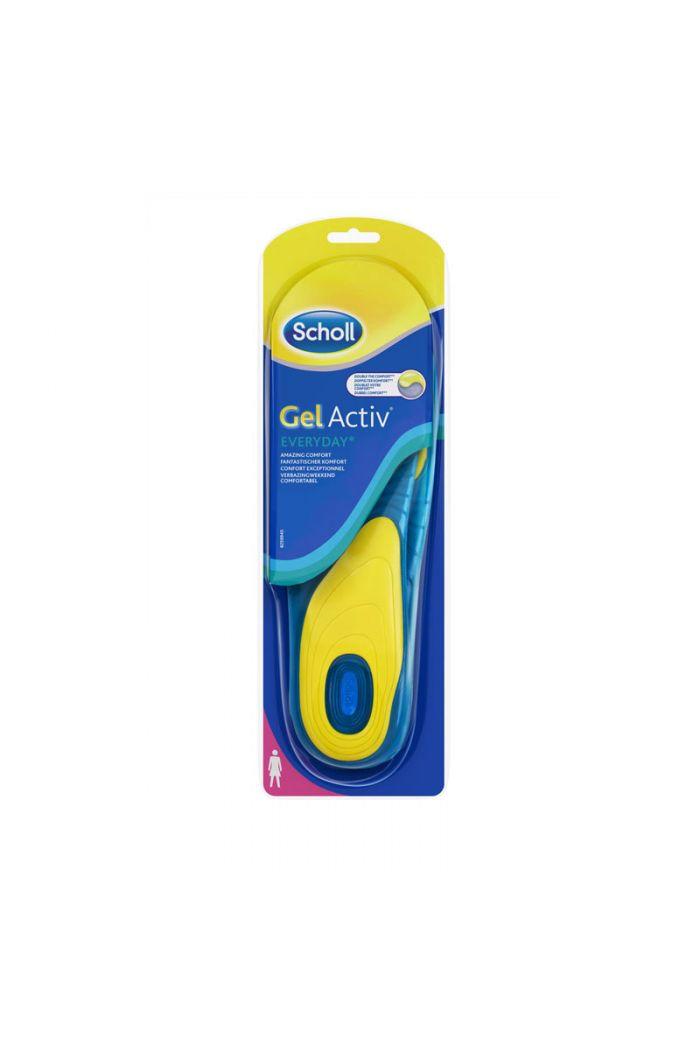 SCHOLL Gel Active Everyday Γυναικείοι Πάτοι One Size (37-42), 2τμχ