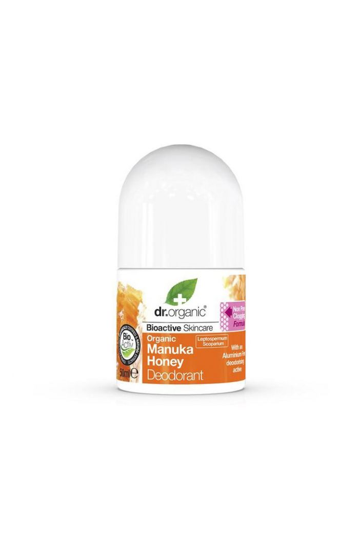DR.ORGANIC Manuka Honey Deodorant Αποσμητικό Roll-On, 50ml