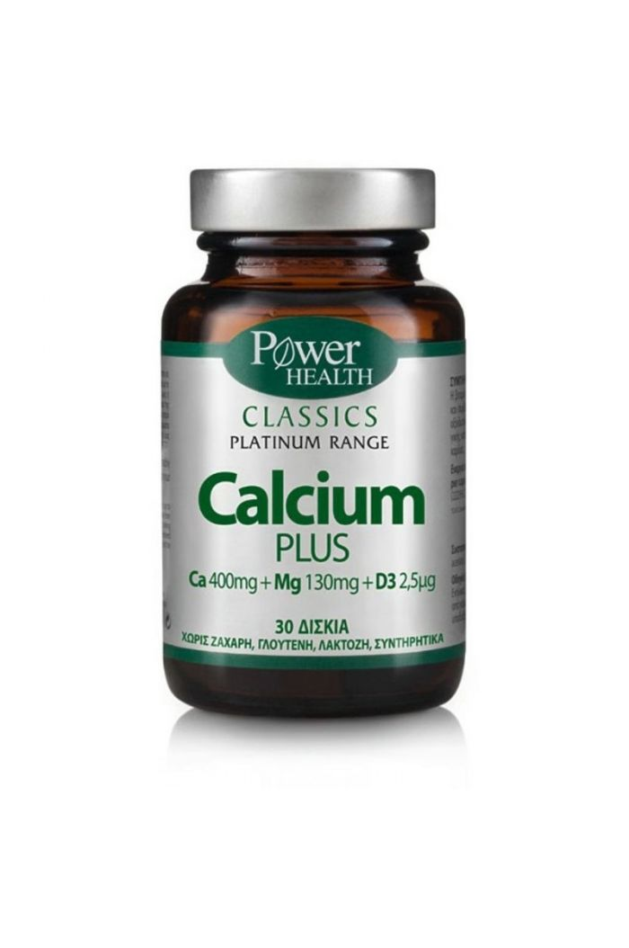 POWER HEALTH Classics Platinum Calcium Plus, 30 tabs