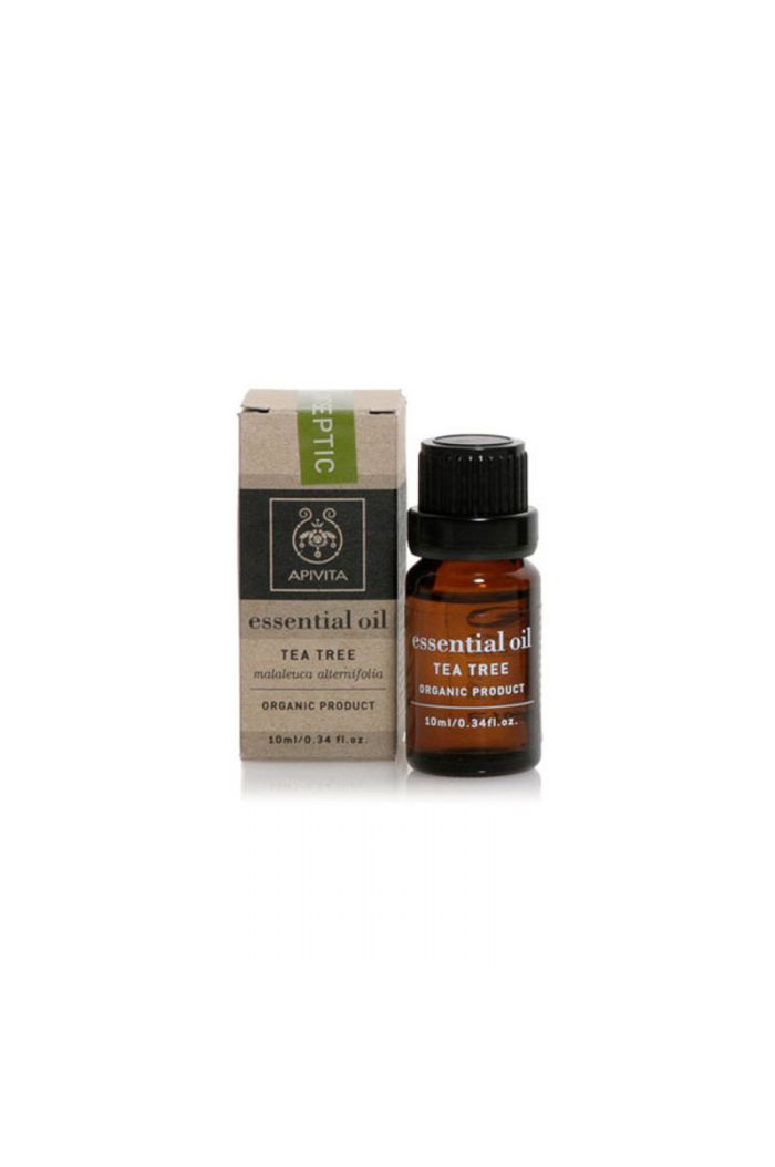 APIVITA Essential Oil Tea Tree Τεϊόδεντρο, 10ml