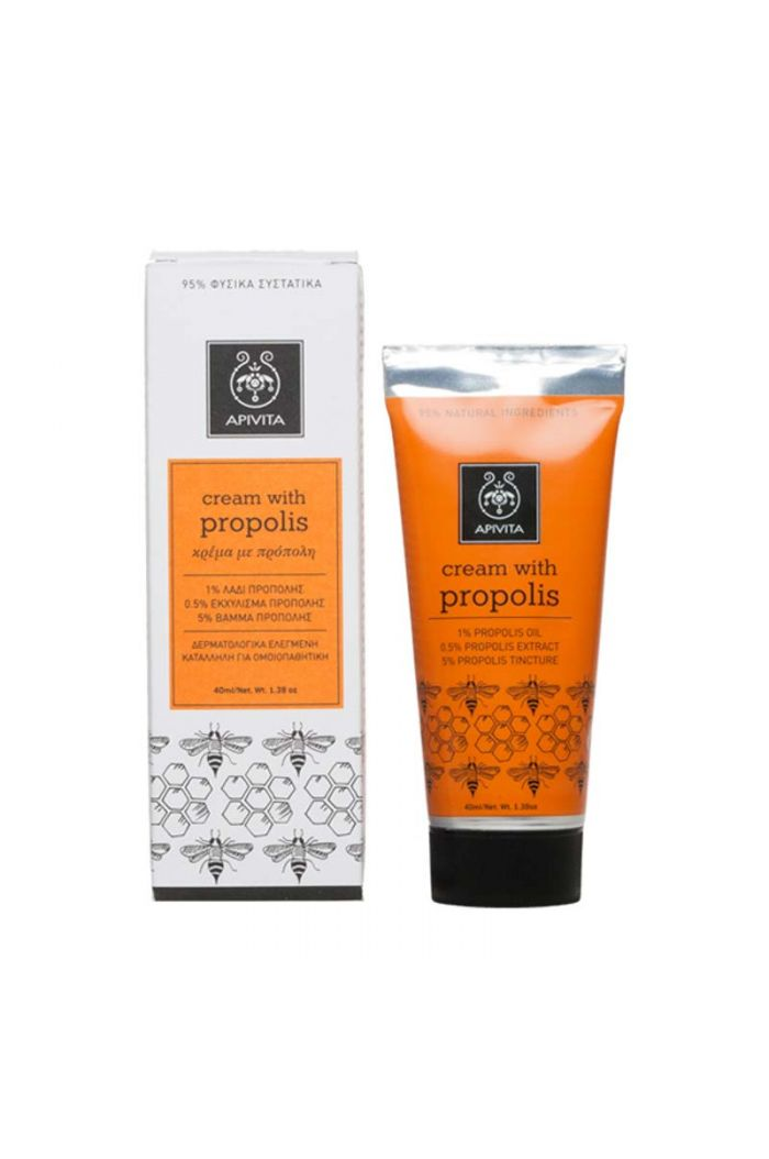 APIVITA Herbal Cream Propolis Κρέμα Με Πρόπολη,40ml