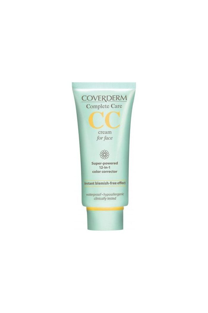 COVERDERM Complete Care CC Cream for Face SPF25 Soft Brown, 40ml