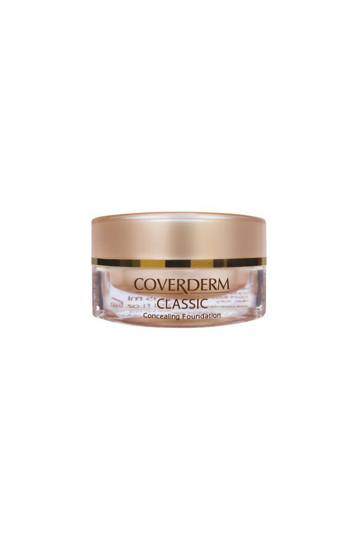 COVERDERM Classic Concealing Foundation SPF30 No6,15ml