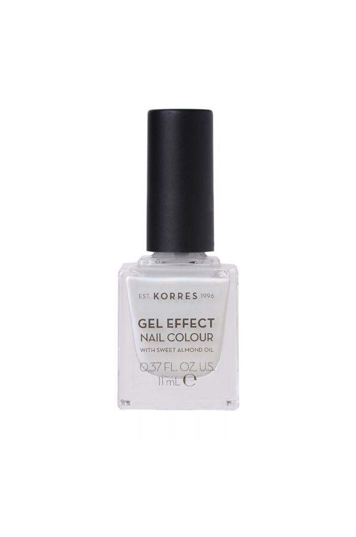 KORRES Gel Effect Nail Colour Βερνίκι Νυχιών 11 Coconut Smoothie, 11ml