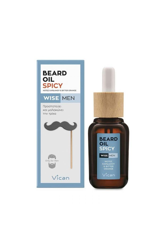 VICAN Wise Men - Beard Oil Spicy, 30ml