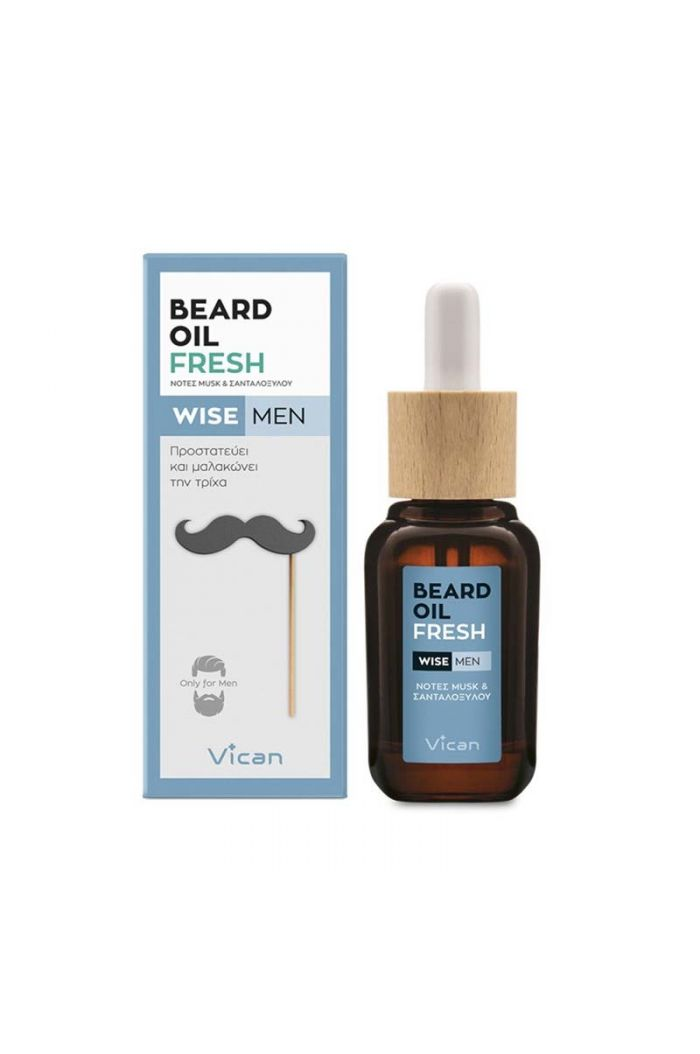 VICAN Wise Men - Beard Oil Fresh, 30ml