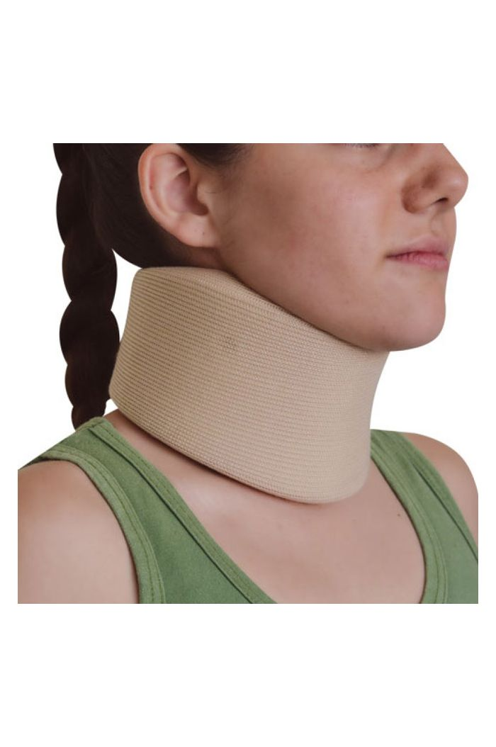 JOHN'S Neck Support Wrap Around Μαλακό Κολάρο Αυχένα Μπεζ, One Size Κωδ. 15076