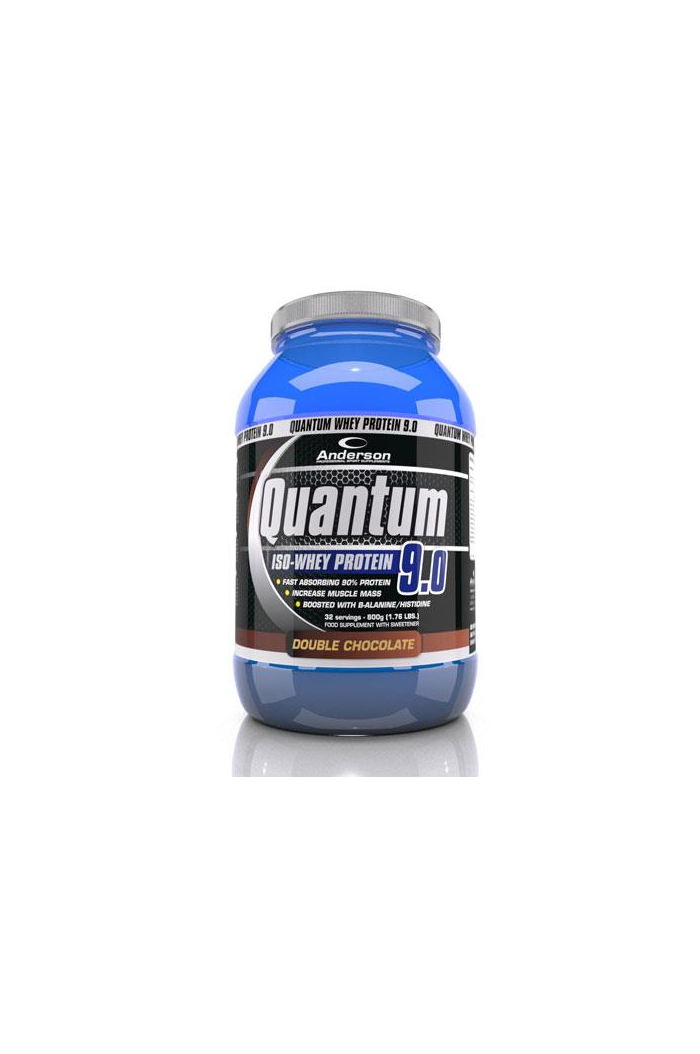 ANDERSON Quantum Whey Protein 9.0 Chocolate Υπερ-Πρωτεΐνη Σοκολάτα, 800g/32 servings