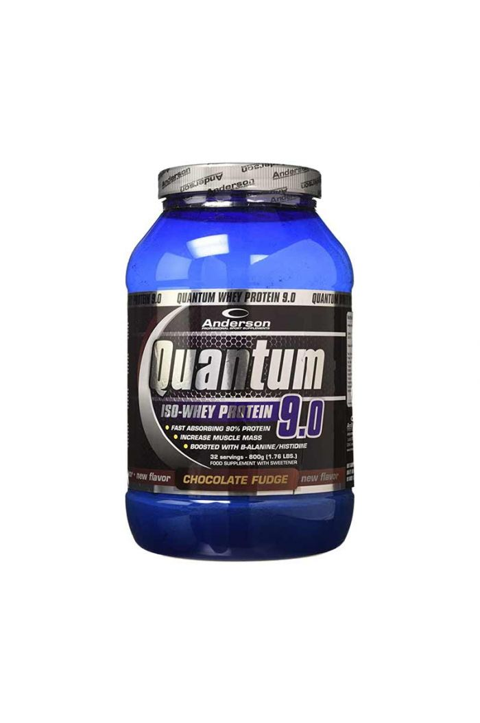 ANDERSON Quantum Whey Protein 9.0 Chocolate Fudge Υπερ-Πρωτεΐνη Σοκολάτα, 800g/32 servings