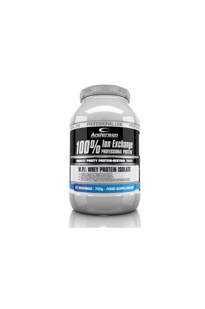 ANDERSON Ion Exchange Professional Protein Neutral 100% Πρωτεΐνη με ουδέτερη γεύση 750g/25 Servings