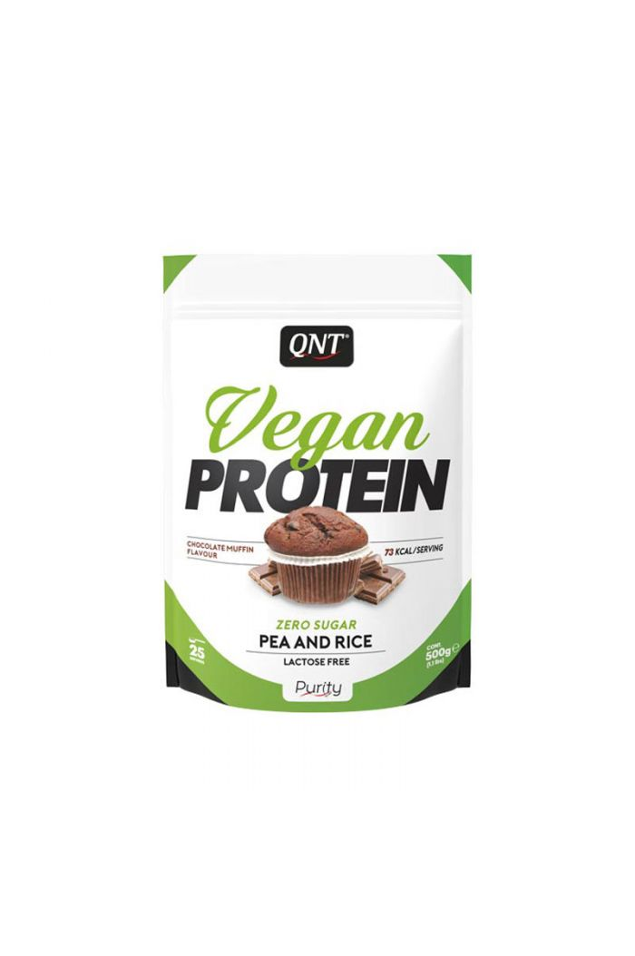 QNT Vegan Protein Chocolate Muffin, 500gr