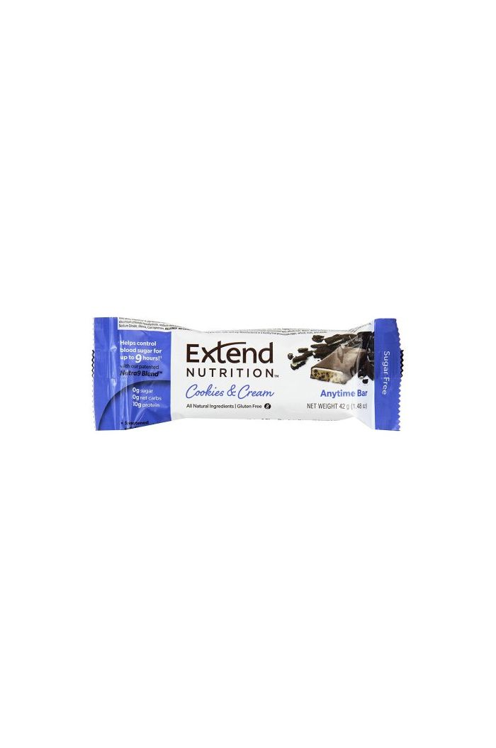 Extend Nutrition Anytime Bar Μπάρα Πρωτεΐνης Cookies & Cream, 42g