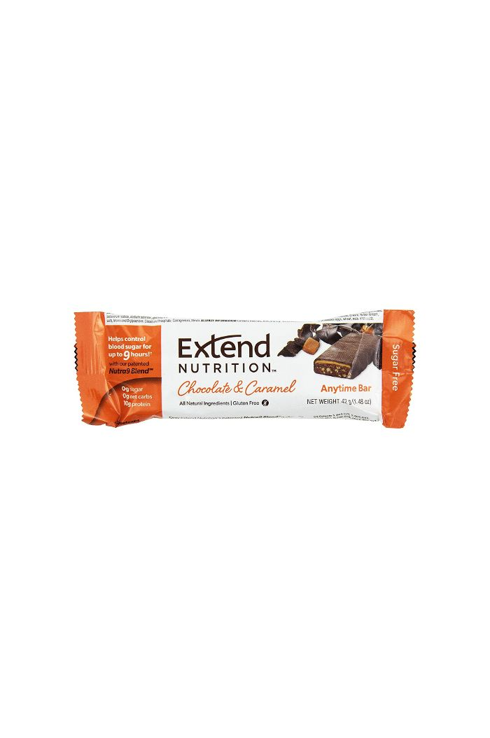 Extend Nutrition Anytime Bar Μπάρα Πρωτεΐνης Chocolate & Caramel, 42g