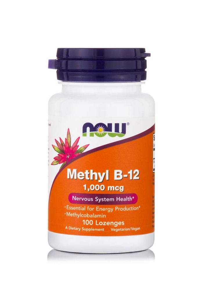 NOW Foods Methyl B-12 1000mcg, 100 παστίλιες