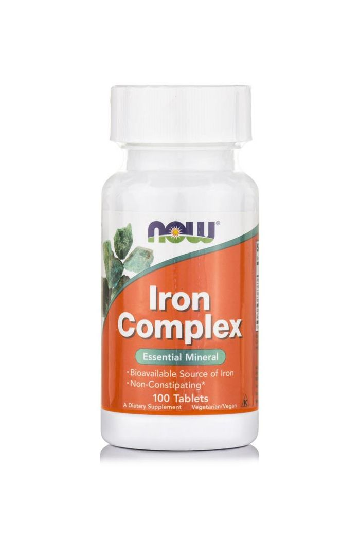 NOW Foods Iron Complex, 100 tabs
