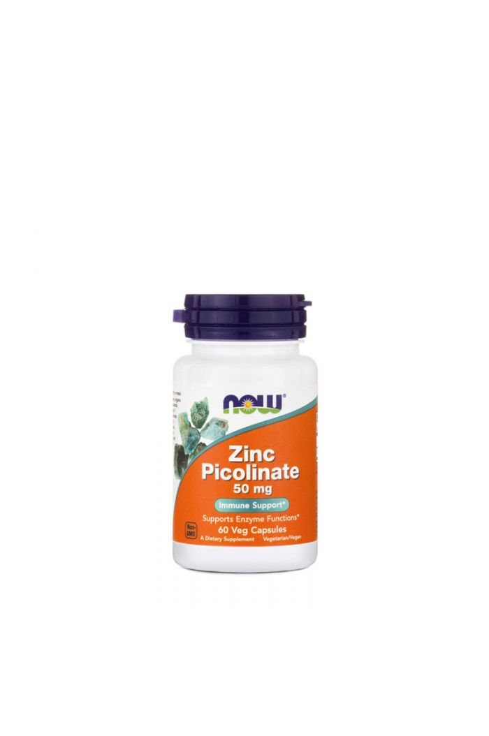 NOW Foods Zinc Picolinate 50mg, 60caps