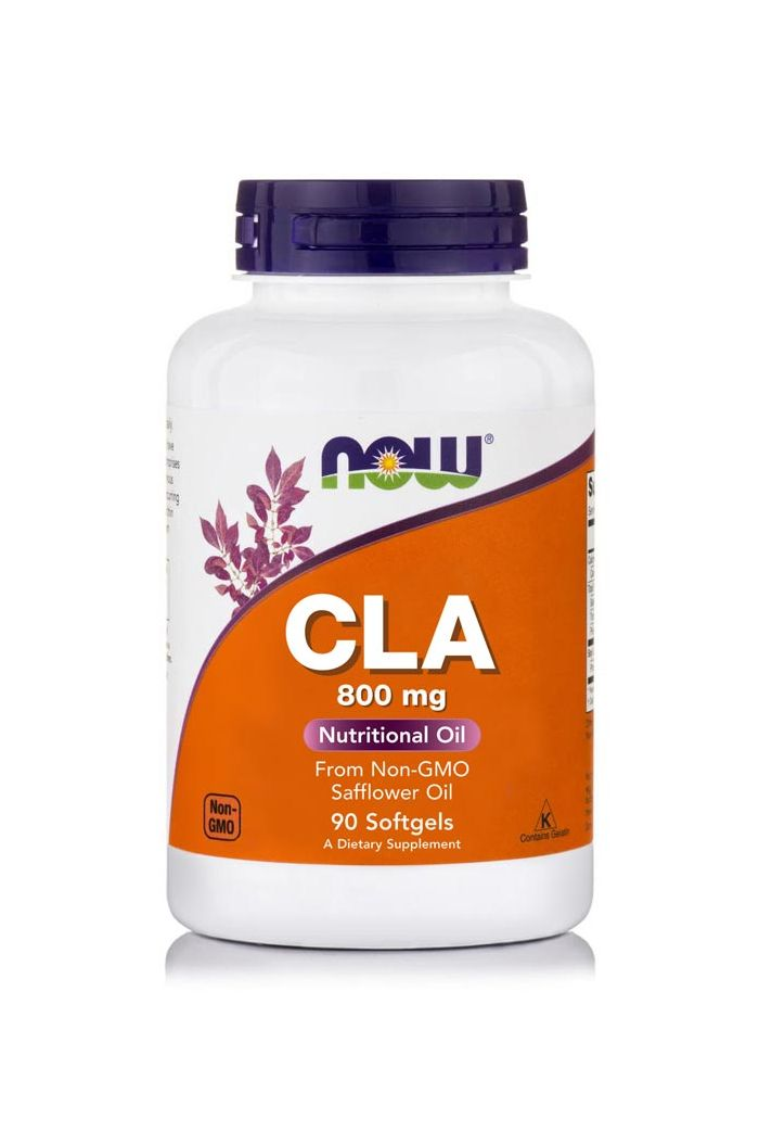 NOW Foods CLA (Conjugated Linoleic Acid) 800mg, 90 μαλακές κάψουλες