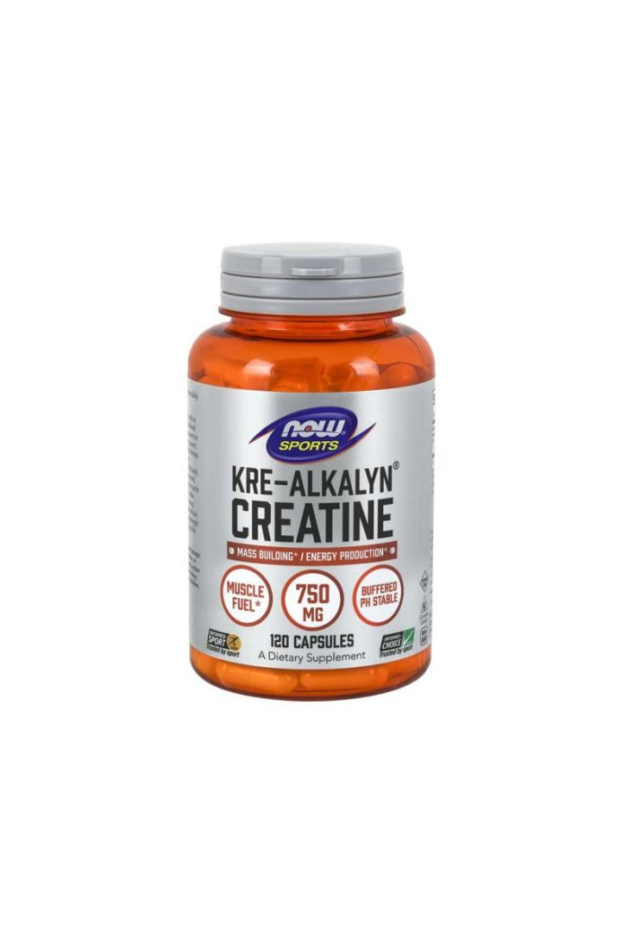 NOW Kre-Alkalyn Creatine, 120caps