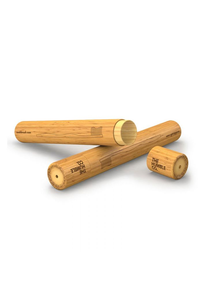 THE HUMBLE CO. Humble Brush Toothbrush Case Θήκη Οδοντόβουρτσας Bamboo Παιδική, 1τμχ