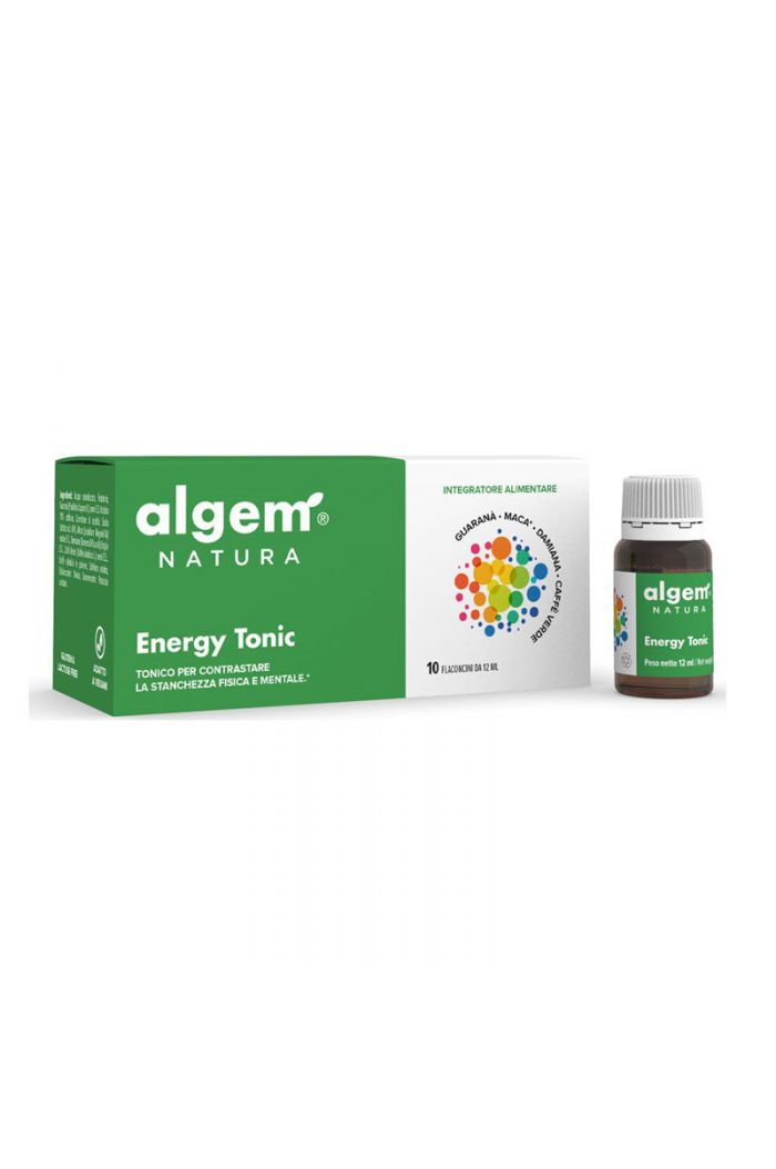 ALGEM NATURA Energy Tonic, 10 x 12ml
