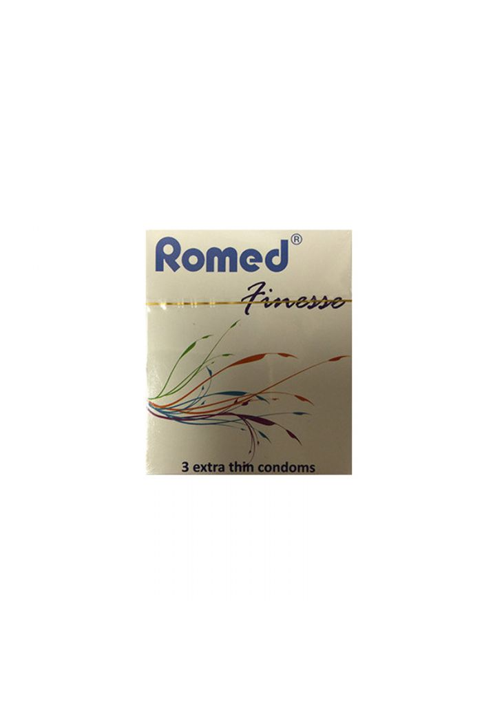 ROMED Finesse Extra Thin Προφυλακτικά, 3τμχ