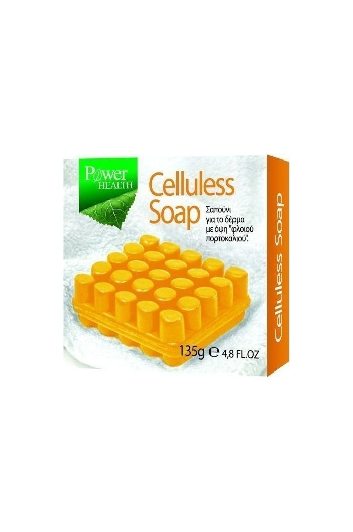 POWER HEALTH Celluless Soap Σαπούνι για Κυτταρίτιδα, 135g